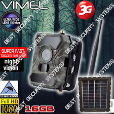 House Security Solar Camera 3G GSM Trail Farm 16GB GSM Remote View Night Vision