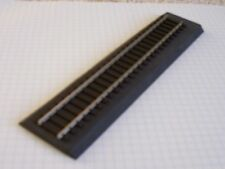5pcs (30')  American Flyer S Scale  Black Sound Foam Track Roadbed (Free Sample)