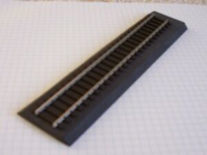 10pcs (60') American Flyer S Scale Black Sound Foam Track Roadbed (Free Sample)