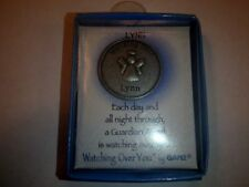 Lynn Watching Over You Guardian Angel Token Coin Medallion Keepsake by Ganz