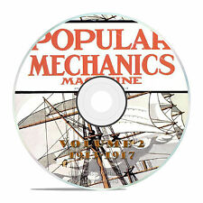 Vintage Popular Mechanics Magazine, Volume 2 DVD, 1913-1917, 48 issues, V12
