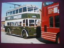 PHOTO  DERBY CORPORATION TROLLEY BUS NO 172