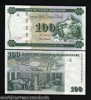 SWEDEN 100 KRONER P68 2005 COMMEMORATIVE LION TUMBA BRUK 250th UNC MONEY NOTE