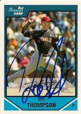 Los Angeles Angels RICH THOMPSON Signed Bowman Card
