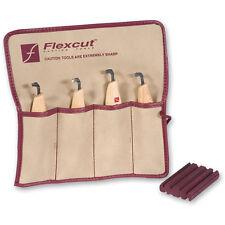 Flexcut Right Handed Scorp Set - 4 Piece AP600079 Wood Carving