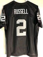 Reebok Women's Premier NFL Jersey OAKLAND Raiders Jamarcus Russell Black sz XL