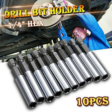 "1/4"" Hex Shank Magnetic Extension Socket Drill Bit Holder For Screwdriver Tool E"