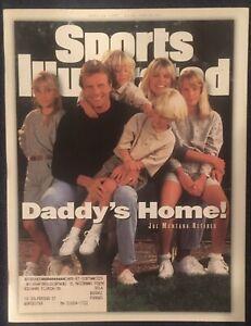 4.24.1995 JOE MONTANA Sports Illustrated Kansas City Chiefs San Francisco 49ers