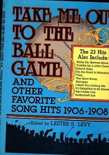 23 MUSIC HALL Vaudeville Songs 118pg Sheet Mus Book TAKE ME OUT to the BALL GAME