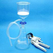 1000ml,Suction Filtration Unit,Buchner Funnel,1L Erlenmeyer Flask & Vacuum Pump