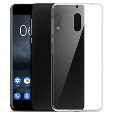 For Nokia 6 Ultra Thin Clear Gel skin case cover