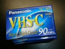 Panasonic TC-30 VHS-C Video Cassette Tape - ONE Tape / SUPER HIGH GRADE