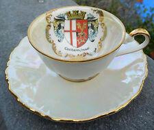 Cochem Mosel Coat of Arms TEA CUP & SAUCER DEMITASSE Wagner Qualitat Bavaria