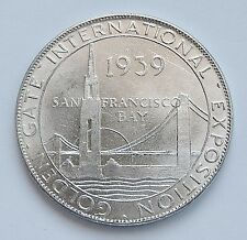 "1939 GOLDEN GATE INTERNATIONAL EXPOSITION ~ UNION PACIFIC SOUVENIR MEDAL ~ 1.25"""