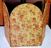 Fireplace Screen ~ Antique Country French Provincial Vintage Shabby Chic Deocr ~