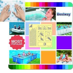 10 Pack Bestway Underwater Adhesive Repair Patches Lay-z-Spa Pool leak Kit