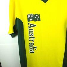 Australian Supporters Cricket / Soccer / Hockey style Jersey L-XL 73 cm - 57 cm