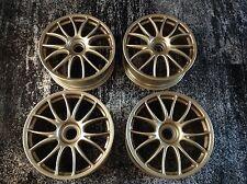 OEM Ferrari 430 F430 Challenge f360 360 BBS Center Lock set 4 Wheels GOLD 19