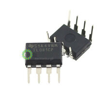 10Stks DIP-8 TL081 TL081CP TI IC JFET Input Operational Amplifiers