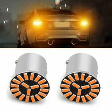 1156 7506 LED Rear Turn Signal Light Bulbs Blinker Indicator Amber Orange Bright