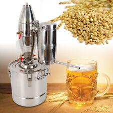 30L Casa Caldaia Alambicco Distillazione del Vino Acqua Olio Distillatore DHL