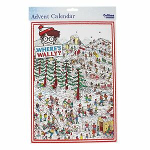 Caltime Character Paper Christmas Advent Calendar - 410154 Where's Wally