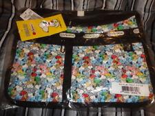 Lesportsac Peanuts Snoopy Mini Deluxe Everyday Bag Crossbody Bag Purse New