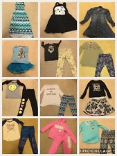 Girls Justice Clothes Twelve (12) Outfits Size 10 12 Pants Shirts Skirts Dresses