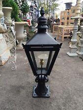 Medium Pier Light Gate Post Lantern Victorian Style Black Colour Lantern