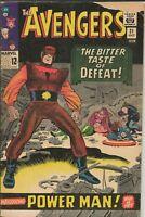 Avengers #21 ORIGINAL Vintage 1965 Marvel Comics 1st Erik Josten Power Man