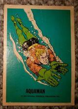 Aquaman Card 1974 National Periodical Publications Inc.