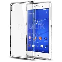 Ultra Thin Crystal Clear hard Transparent Case Cover for Sony Xperia Z3