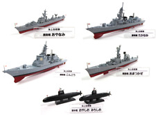 Set of 6 Japan military battleships 1:900 DeAgostini Destroyer Cruiser JMSDF