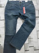 NEU Sheego Damen Jeans Stretch Hose Gr 441 44 bis 56 Blue Blau Ton