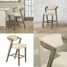 New listing Snyder Aged Gray Non Swivel Counter Stool