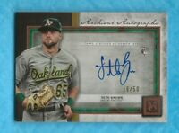 SETH BROWN 2020 Topps Museum Collection Archival Autographs Copper #AASB 16/50