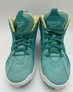 REEBOK KAMIKAZE II MID Easter Edition Teal/Green/ White Size 8 Style #M40341