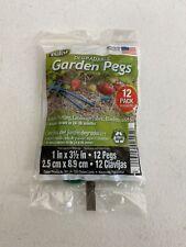 Dalen Degradable Garden Pegs 12 Pack