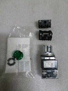 Siemens 52SA7ADN Illuminated Selector Switch 2 Position 24 V Max