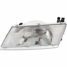 For Sentra 95-98, Driver Side Headlight, Clear Lens