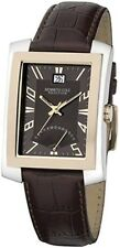Kenneth Cole Men's KC1383 Reaction Brown Leather Strap Watch