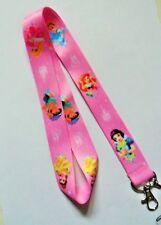 Disney Princess Lanyard Neck Strap - Mobile Phone / ID / MP3 / Keys / Whistle