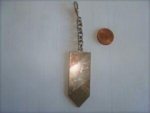 Alter   Uhrenkettenanhänger  925 Silber