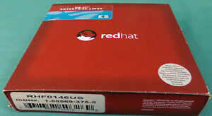 RED Hat Enterprise LINUX Version 3 ES Complete 9-CD Disc with Product Code