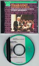 Evgeny MRAVINSKY: TCHAIKOVSKY Symphony 5 Leningrad Philharmonic CD Tschaikowski