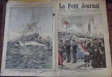 """LE PETIT JOURNAL N°767.  30/7/1905  LA CATASTROPHE DU """" FARFADET """""""