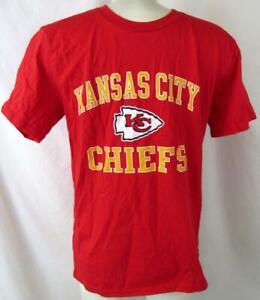 "Kansas City Chiefs Youth L or XL Short Sleeve ""VICTORY ARCH"" T-shirt AKAC 307"
