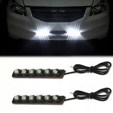 Universal 6 LED DRL 12V Weiß Nebelscheinwerfer Tagfahrlicher Blinkerleuchte