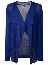 MISSONI Women's Open Cardigan in Royal Blue