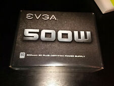 EVGA 500W PSU 80 Plus Power Supply 500 W1 100-W1-0500-KR Computer PC